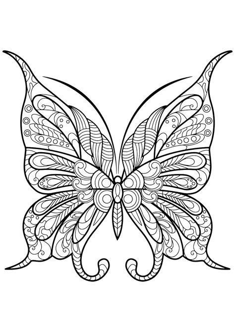adult butterfly coloring book beautiful butterfly pictures butterfly pictures  mandala