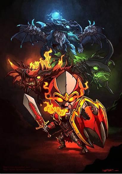Dota Knight Dragon Desktop Smartphone Chibi Mu