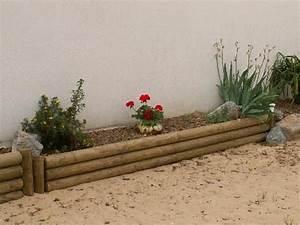 Bordure De Jardin Bois : bordures bois jardin ~ Premium-room.com Idées de Décoration