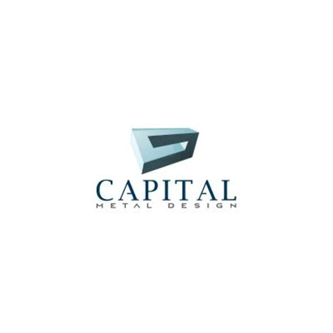 capital metal design logo design gallery inspiration