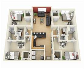 house plans small lot 50 four 4 bedroom apartment house plans architecture
