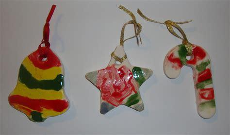 art paper scissors glue ceramic christmas ornaments