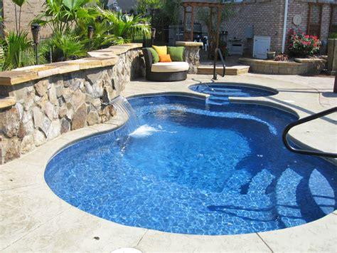 Malibu Medium Fiberglass Inground Viking Swimming Pool