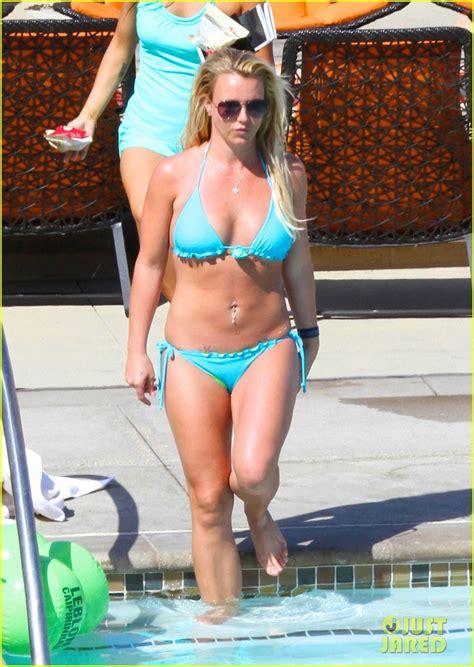 megyn price swimsuit britney spears bikini pool babe with shirtless david