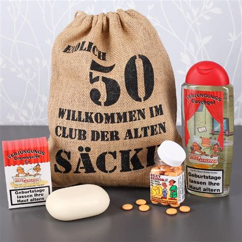 Geschenk Für 50 by Lustige Geschenke Zum Geburtstag Witzige Geschenkideen
