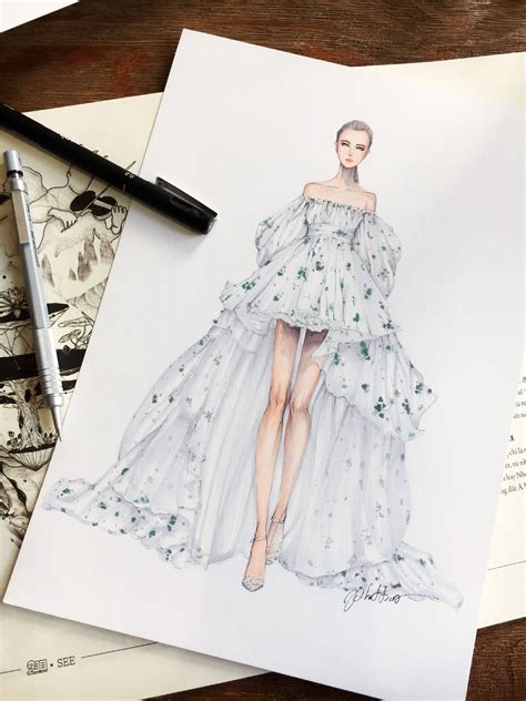 design a dress pin by lena s closet on fashion design