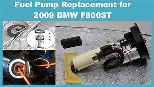 Diy Fuel Pump Replacement For Bmw F800st 2009