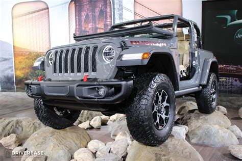 2019 Jeep Wrangler Auto Show by 2019 Jeep Wrangler Rubicon Suv At The 2019 New York Auto