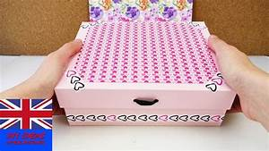 Decorative Storage Box – DIY cardboard idea – Safe Keeping