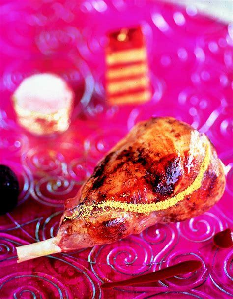 comment cuisiner le foie gras délice de lapin doré au millefeuille de chorizo et foie