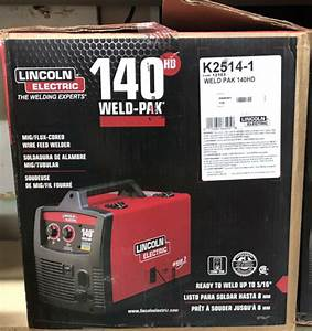 Lincoln Electric Weld Pak 100 Hd Feed Welder 4 For Sale