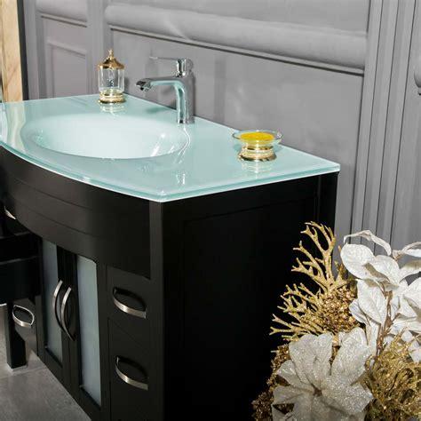 jersey city 42 inch black bathroom cabinet