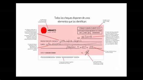 Tú, los cheques y las transferencias bancarias - YouTube