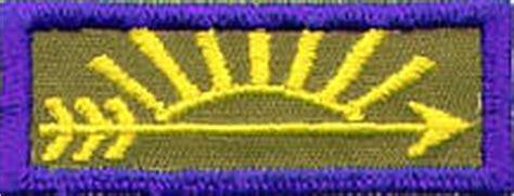 arrow of light patch webelos and arrow of light rank badges