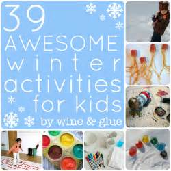 39 awesome winter activities for wine glue