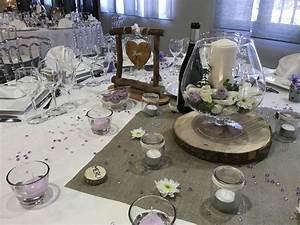 Deco De Table Champetre : d coration de table pour mariage th me champ tre parme ~ Melissatoandfro.com Idées de Décoration