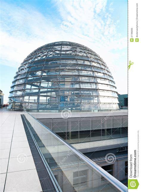 Reichstagkoepel, De Moderne Architectuur Van Berlijn Stock
