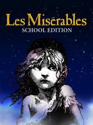 yorks belmont theatre presents les miserables school