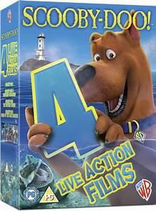 Scooby-Doo: Live Action Quad DVD   Zavvi