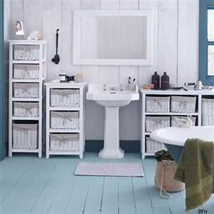 deco salle de bain style bord de mer With salle de bain style bord de mer