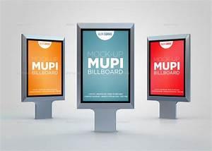 Mupi Billboard Mock-Up by AlkDesign GraphicRiver
