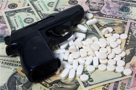 prescription drug abuse leads  rise  armed robberies