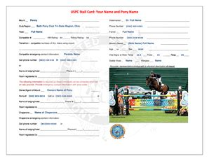 form uspc stall card fill  printable fillable