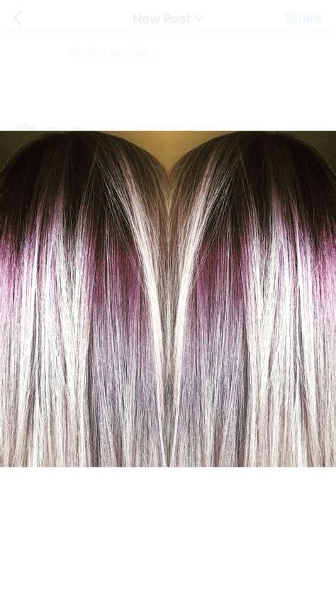 cullman al blonde hair  roots hair color purple