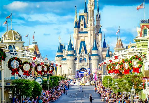 when does disney world remove christmas decorations