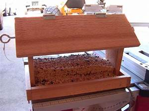 How to Build a Bird Feeder - Small DIY woodworking project
