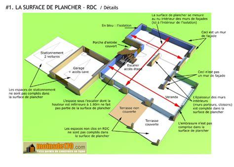 comment calculer la surface d une chambre la surface de plancher réforme urbanisme mars 2012