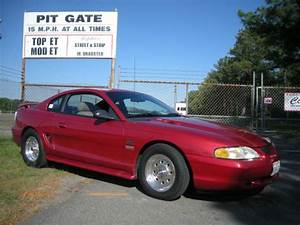 94 Mustang GT Red, Street / Strip Drag car, Nitrous, 2 sets of wheels and tires.