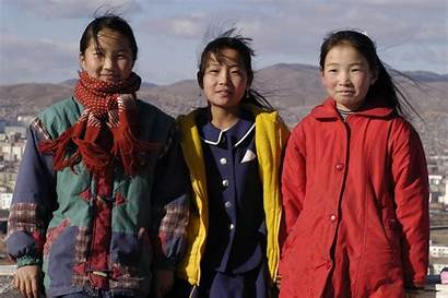 Mongolia Population Mongolian Chinese Russian Asia Omf