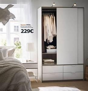 Ikea Armoire Chambre : dressing et armoire ikea les nouveaut s du catalogue ikea armoires c t maison ~ Teatrodelosmanantiales.com Idées de Décoration