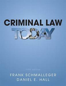 Solution   Criminal Law Today  Subscription   5th Edition