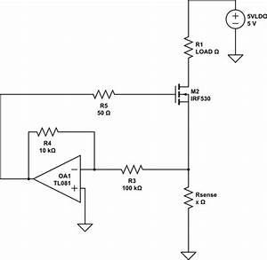 Current Limiter With Low Voltage Drop Out