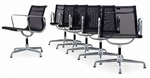Eames Ea 108 : a set of six charles and ray eames 39 aluminium group chairs ~ A.2002-acura-tl-radio.info Haus und Dekorationen