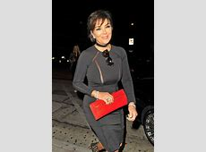 Cover Up! Kris Jenner Lets Her Nipples HANG OUT In