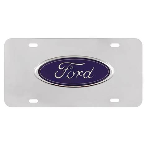 Decorative Front License Plate - decorative license plate stainless steel front ford