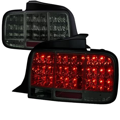 05 09 ford mustang led sequential turn signal led lights smoked