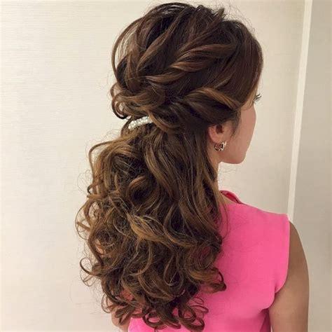 beautiful   hairstyles ideas  bridesmaid vis wed