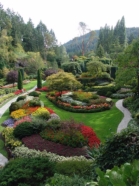 the butchart gardens bc canada 2 photograph by