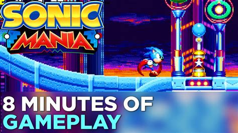 sonic mania  minutes  hands  gameplay youtube
