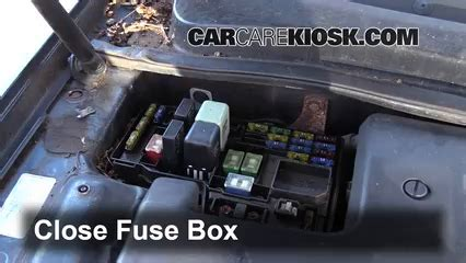 1999 Acura Cl V6 Fuse Box by Blown Fuse Check 1997 1999 Acura Cl 1999 Acura Cl