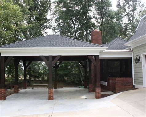 hip roof carport plans style the 25 best attached carport ideas ideas on