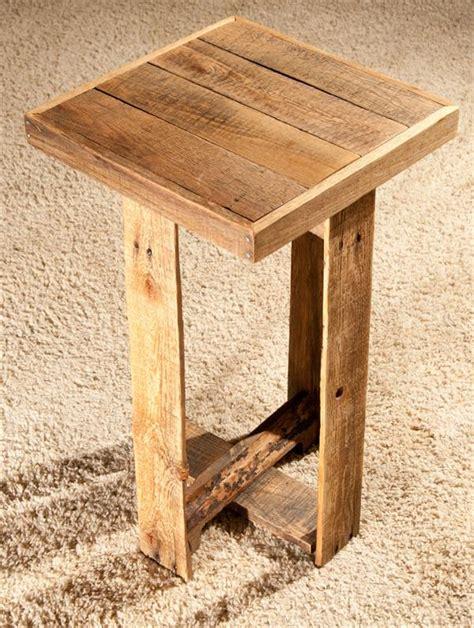 diy wood end table diy pallet end table or side table wooden pallet furniture