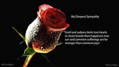 Condolence Quotes Wallpapers Sad Sympathy Deepest Messages