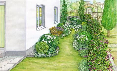 Durchgang Garten Gestalten by Durchgang An Einer Hauswand Neu Gestalten Garten Planung