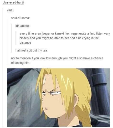 Almost As Much Fullmetal Alchemist My Headcanon Is That The Two Shows Are Set In Same Universe 1000 Ideas About Edward Elric On Fullmetal