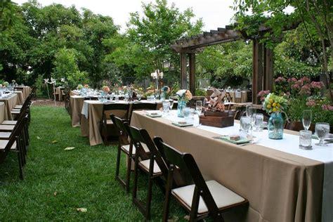 backyard wedding ideas   budget